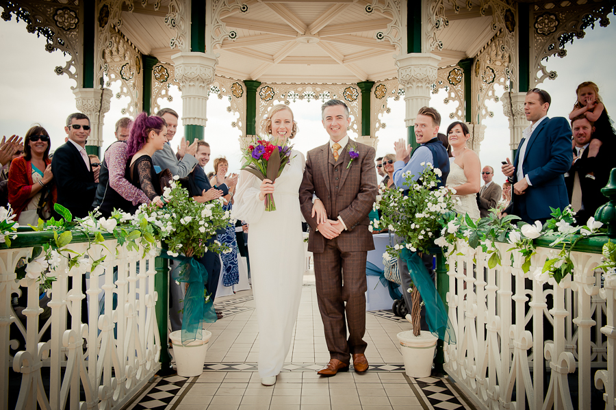 Helen Amp Michael Part 1 A Vintage Infused Brighton Bandstand Wedding