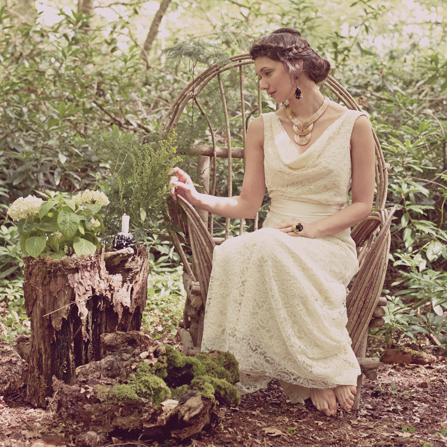 union love tale a paganinspired bridal inspiration