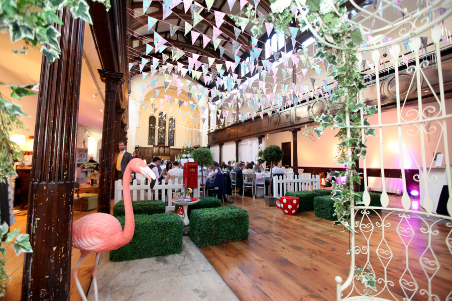 Wedding Venue Decorations Brighton Quirky Creative Vintage Tea Party At Fabrica Art