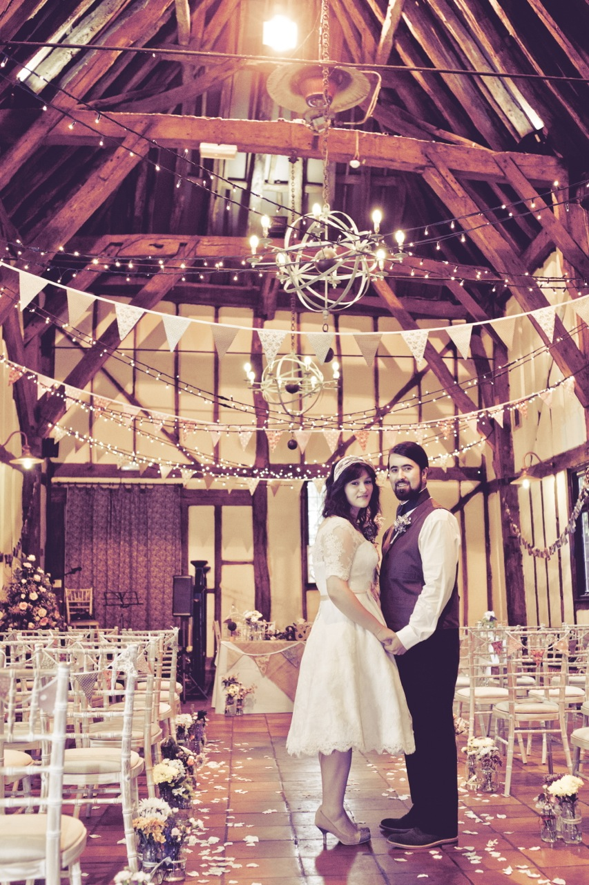 A Rustic And Romantic Barn Wedding At The Tithe Bedfordshire Collette Andy